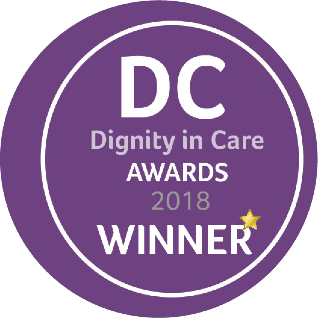 DC Dignity in Care Awards 2018 - Winner