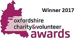 Oxfordshire Charity and Volenteer Awards 2017 - Winner